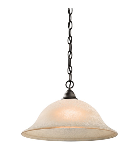 Kichler Lighting Camerena 1 Light Pendant in Olde Bronze 43233OZ