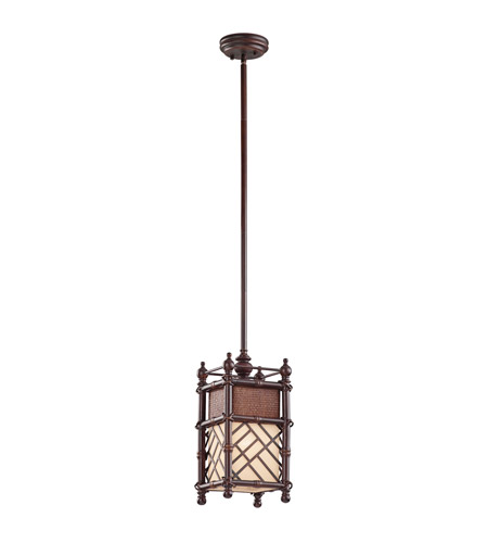 Kichler Lighting Rum Cove 1 Light Pendant in Cayman Bronze 43251CYZ photo