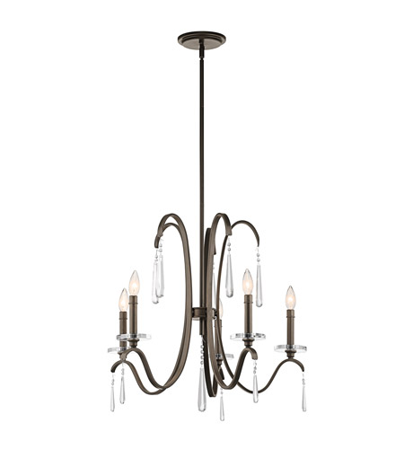Kichler Lighting Tara 5 Light Chandelier in Olde Bronze 43288OZ