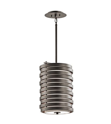 Kichler Lighting Roswell 1 Light Mini Pendant in Olde Bronze 43302OZ photo