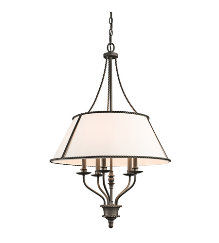 Kichler Lighting Donington 5 Light Chandelier in Olde Bronze 43340OZ photo