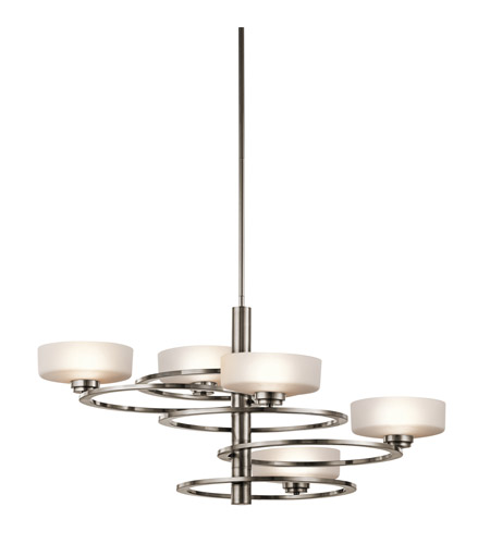 Kichler 43365CLP Aleeka 5 Light 34 inch Classic Pewter Chandelier 1 Tier Medium Ceiling Light photo