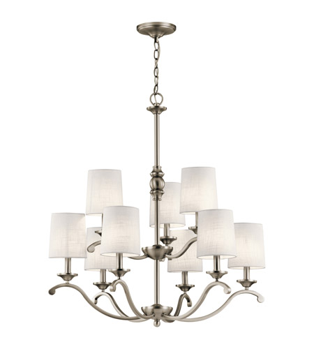 Kichler 43393AP Versailles 9 Light 30 inch Antique Pewter Chandelier  Ceiling Light photo - Kichler 43393AP Versailles 9 Light 30 Inch Antique Pewter Chandelier