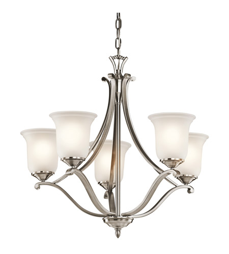 Kichler Lighting Wellington Square 5 Light Chandelier in Classic Pewter 43401CLP photo