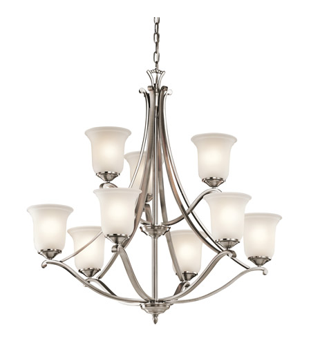 Kichler Lighting Wellington Square Chandelier in Classic Pewter 43402CLP