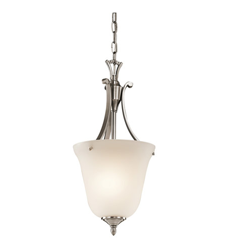 Kichler Lighting Wellington Square 1 Light Foyer Chain Hung in Classic Pewter 43403CLP