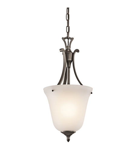Kichler Lighting Wellington Square 1 Light Foyer Chain Hung in Olde Bronze 43403OZ