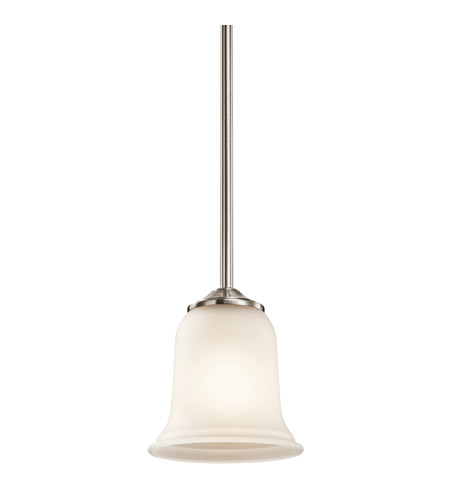 Kichler Lighting Wellington Square 1 Light Mini Pendant in Classic Pewter 43404CLP