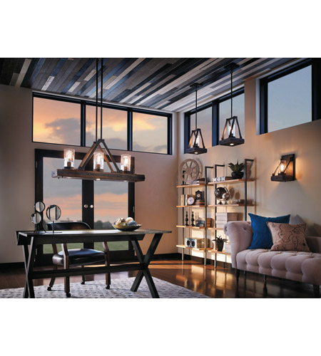 Kichler 43435AUB Colerne 2 Light 11 inch Auburn Stain Mini Pendant Ceiling Light alternative photo thumbnail