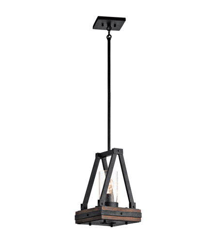 Kichler Colerne 2 Light Mini Pendant in Auburn Stain 43435AUB