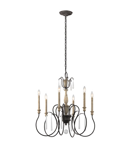 Kichler 43617wzc kimblewick 6 light 26 inch weathered zinc kichler 43617wzc kimblewick 6 light 26 inch weathered zinc chandelier ceiling light photo mozeypictures Image collections