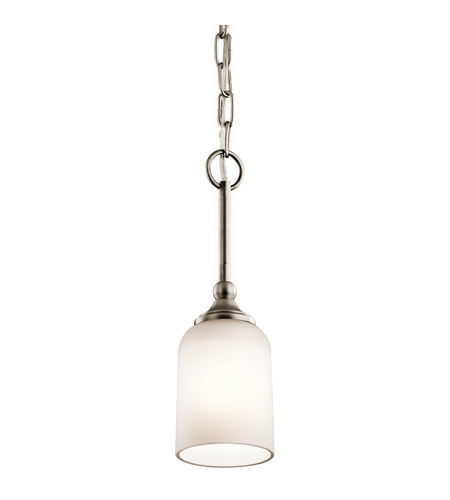 Kichler 43654AP Lilah 1 Light 4 inch Antique Pewter Mini Pendant Ceiling Light