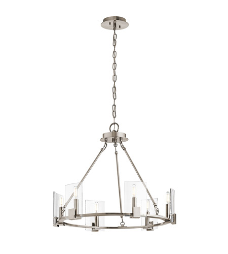 Kichler 43701clp signata 6 light 26 inch classic pewter chandelier kichler 43701clp signata 6 light 26 inch classic pewter chandelier ceiling light aloadofball Image collections