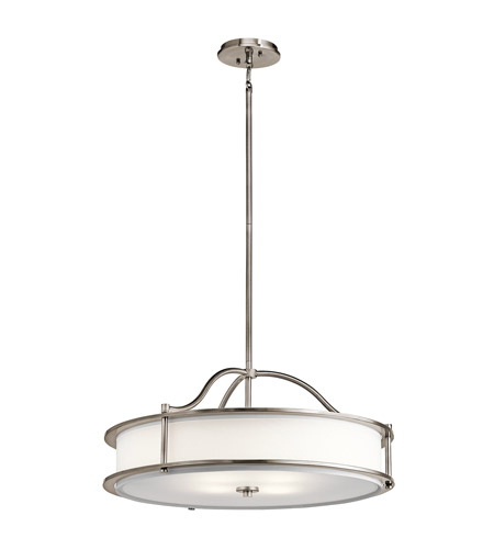 Kichler 43706CLP Emory 3 Light 18 inch Classic Pewter Pendant Ceiling Light photo thumbnail
