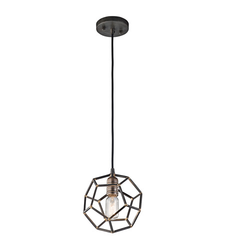 Kichler 43719rs rocklyn 1 light 8 inch raw steel mini pendant kichler 43719rs rocklyn 1 light 8 inch raw steel mini pendant ceiling light photo aloadofball Images