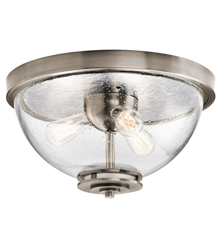 Kichler 43740clp silberne 3 light 18 inch classic pewter flush mount kichler 43740clp silberne 3 light 18 inch classic pewter flush mount ceiling light aloadofball Gallery