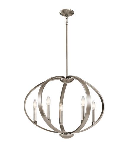 Kichler 43871clp elata 5 light 27 inch classic pewter chandelier kichler 43871clp elata 5 light 27 inch classic pewter chandelier ceiling light aloadofball Image collections