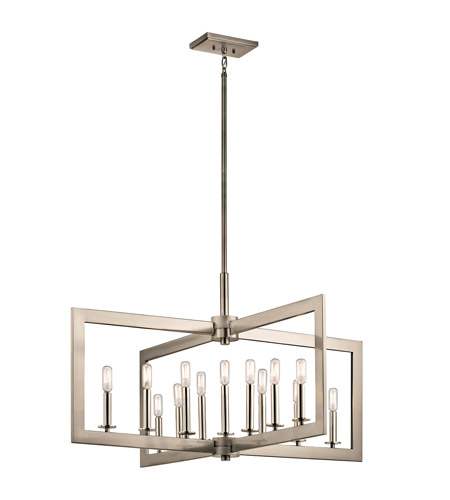 Kichler 43901clp cullen 13 light 39 inch classic pewter chandelier kichler 43901clp cullen 13 light 39 inch classic pewter chandelier ceiling light aloadofball Image collections