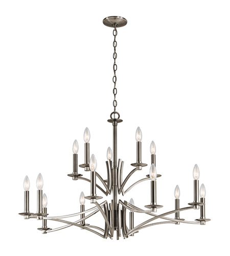 Kichler 43908clp grayson 15 light 36 inch classic pewter chandelier kichler 43908clp grayson 15 light 36 inch classic pewter chandelier ceiling light photo aloadofball Image collections