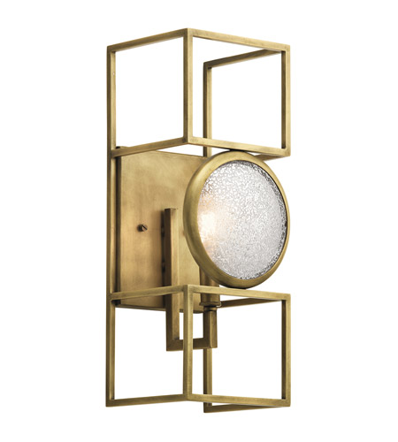 Kichler 43934NBR Vance 1 Light 6 inch Natural Brass Wall Sconce Wall Light photo