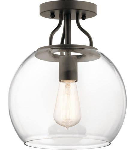 timeless design f792b 31c5c Harmony 1 Light 10 inch Olde Bronze Semi Flush Mount Ceiling Light