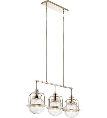 Kichler 44205pn triocent 3 light 10 inch polished nickel chandelier kichler 44205pn triocent 3 light 10 inch polished nickel chandelier ceiling light linear aloadofball Choice Image