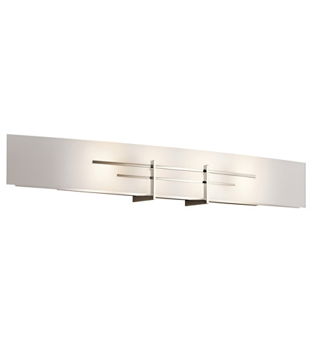 Kichler Lighting Kympton 4 Light Bath Vanity in Polished Nickel 45027PN