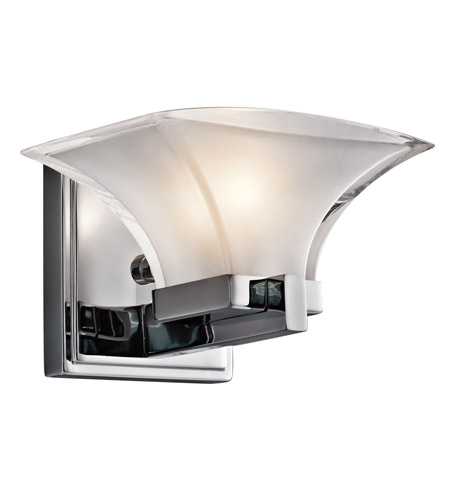 Kichler Lighting Tulare 1 Light Wall Sconce in Chrome 45036CH