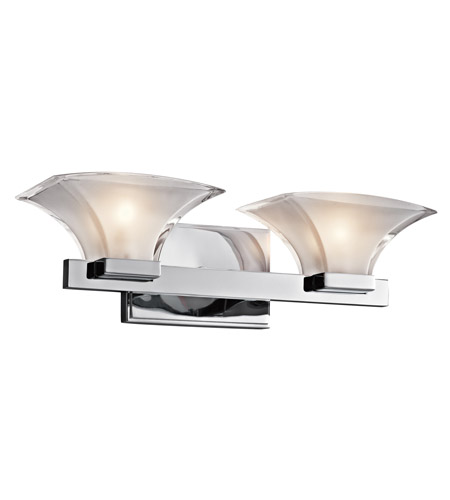 Kichler Lighting Tulare 2 Light Bath Vanity in Chrome 45037CH
