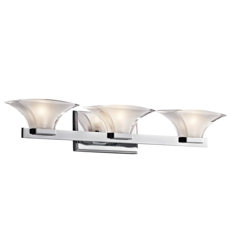 Kichler Lighting Tulare 3 Light Bath Vanity in Chrome 45038CH