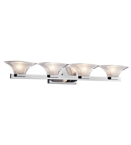 Kichler Lighting Tulare 4 Light Bath Vanity in Chrome 45039CH