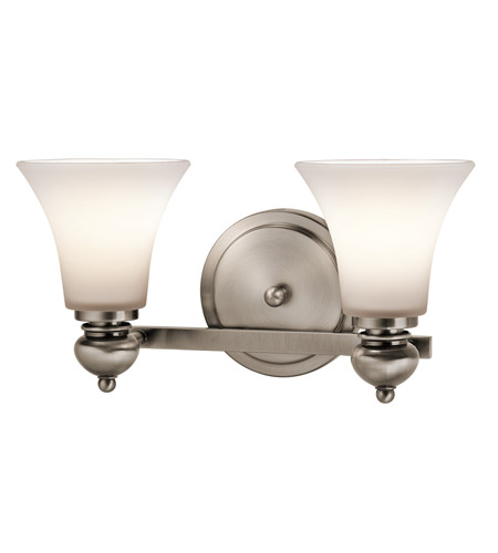 Kichler Lighting Sheila 2 Light Bath Wall in Classic Pewter 45047CLP