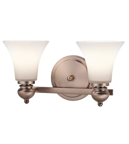Kichler Lighting Sheila 2 Light Bath Wall in Classic Bronze 45047CLZ photo