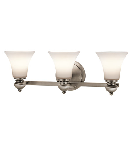 Kichler Lighting Sheila 3 Light Bath Wall in Classic Pewter 45048CLP