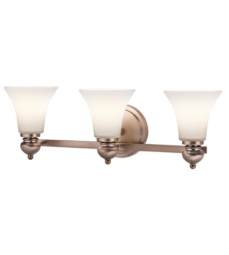 Kichler Lighting Sheila 3 Light Bath Wall in Classic Bronze 45048CLZ photo