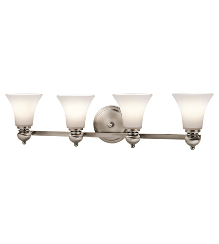 Kichler Lighting Sheila 4 Light Bath Wall in Classic Pewter 45049CLP
