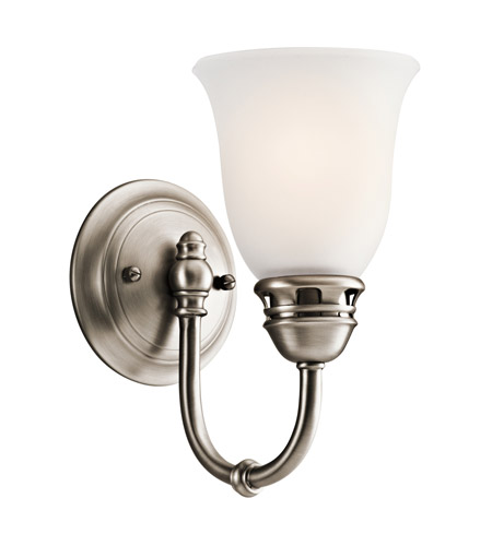 Kichler Lighting Durham 1 Light Wall Sconce in Antique Pewter 45064AP photo