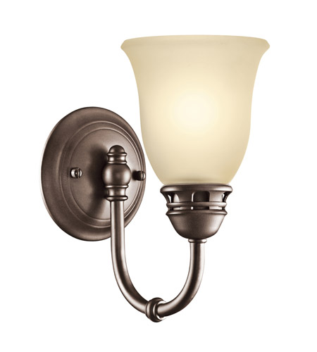 Kichler Lighting Durham 1 Light Wall Sconce in Olde Bronze 45064OZ photo