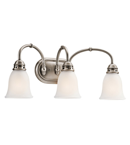Kichler Lighting Durham 3 Light Bath Vanity in Antique Pewter 45066AP