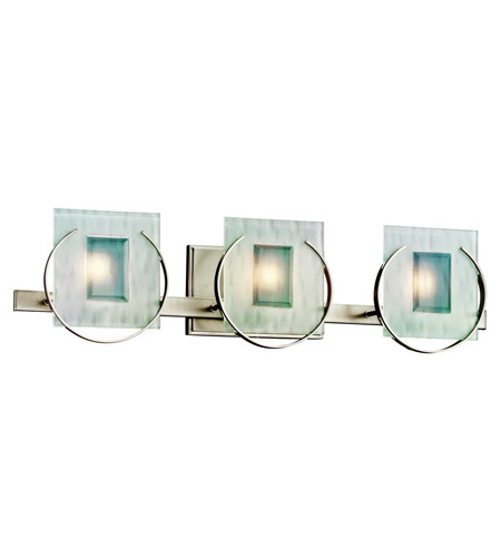 Kichler Lighting Manitoba 3 Light Bath Vanity in Brushed Nickel 45074NI photo