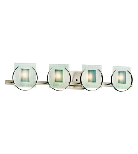 Kichler Lighting Manitoba 4 Light Bath Vanity in Brushed Nickel 45075NI photo