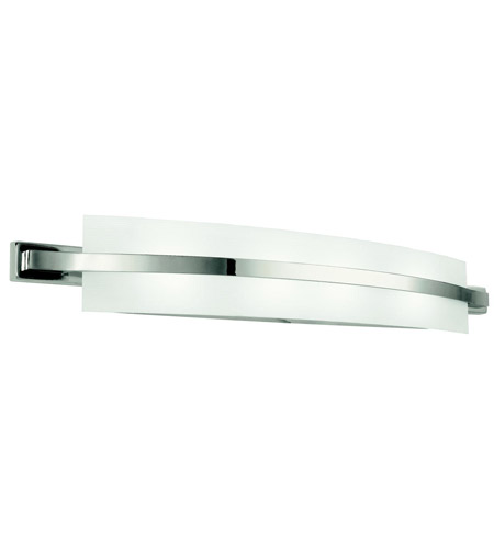 Kichler 45088PN Freeport 4 Light 36 inch Polished Nickel Bath Vanity Wall Light in Standard photo