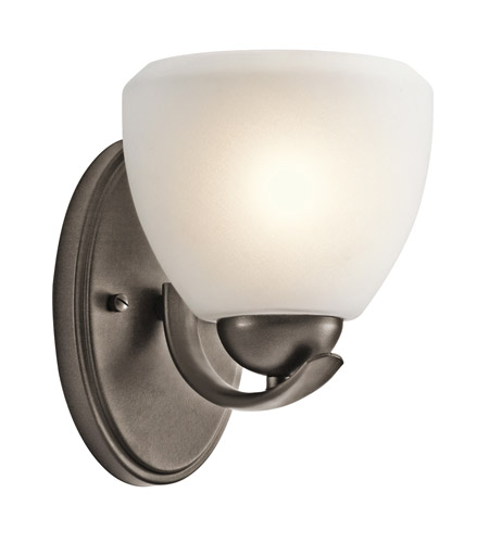 Kichler Lighting Calleigh 1 Light Wall Sconce in Olde Bronze 45117OZ photo