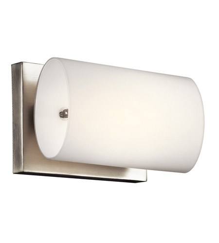 Kichler Lighting Ayana 1 Light Wall Sconce in Brushed Nickel 45125NI