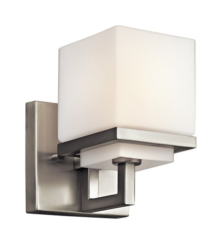 Kichler Lighting Metro Park 1 Light Wall Sconce in Brushed Nickel 45137NI photo