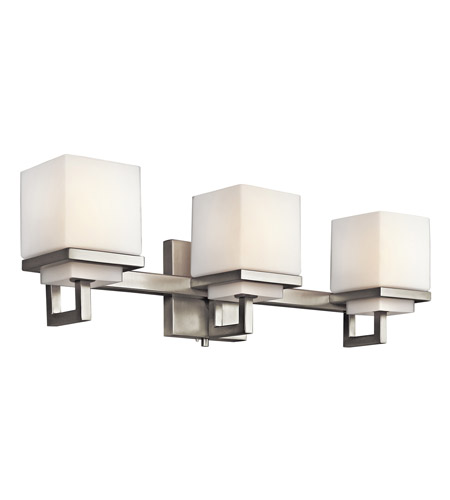 Kichler Lighting Metro Park 3 Light Bath Vanity in Brushed Nickel 45139NI photo
