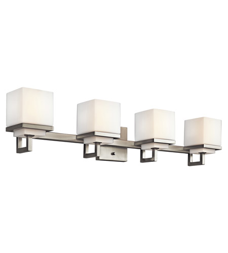 Kichler 45140NI Metro Park 4 Light 31 inch Brushed Nickel Bath Vanity Wall Light photo