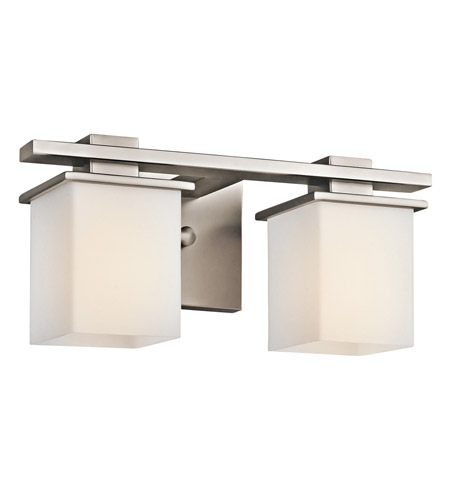 Kichler Lighting Tully 2 Light Bath Vanity in Antique Pewter 45150AP photo