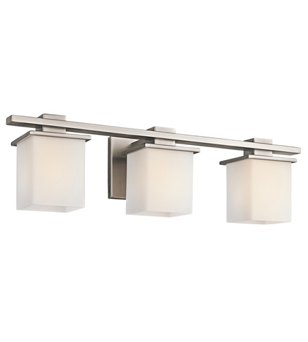 Kichler Lighting Tully 3 Light Bath Vanity in Antique Pewter 45151AP photo