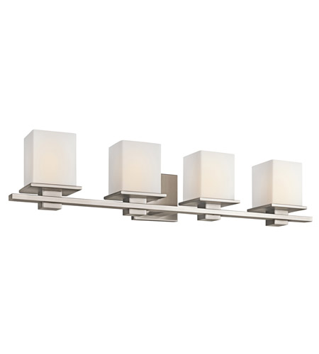 Kichler 45152AP Tully 4 Light 32 inch Antique Pewter Bath Vanity Wall Light photo